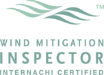 This icon shows that Florida Certified Home Inspections is an InterNACHI certified wind mitigation inspection expert.
