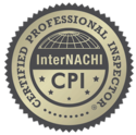 This icon shows Florida Certified Home Inspections' professional home inspector certification from InterNACHI.