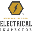 Florida Certified Home Inspections has a certificate from InterNACHI for electrical inspection, as shown by this icon.