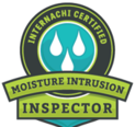 Florida Certified Home Inspections is an InterNACHI certified moisture intrusion home inspector, as shown in this icon.