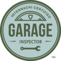 This icon shows Florida Certified Home Inspections' certification as an InterNACHI garage inspector.